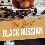Black Russian Cocktail Recipe