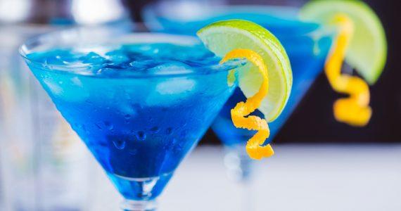 homemade Blue Curacao