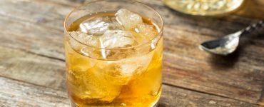 Scotch Godfather Cocktail with Amaretto